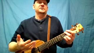 MUJ:  Eleanor Rigby - Beatles (ukulele tutorial)