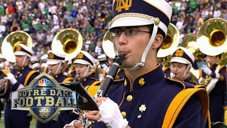 Notre Dame band honors Beatles with halftime tribute | NBC Sports