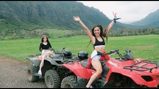 ATVs and Cliff Jumping in Hawaii | viv vlogs #4