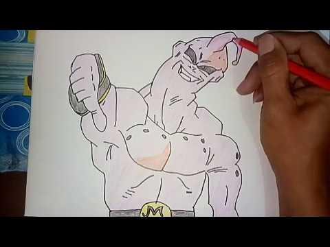 menggambar iblis boo youtube