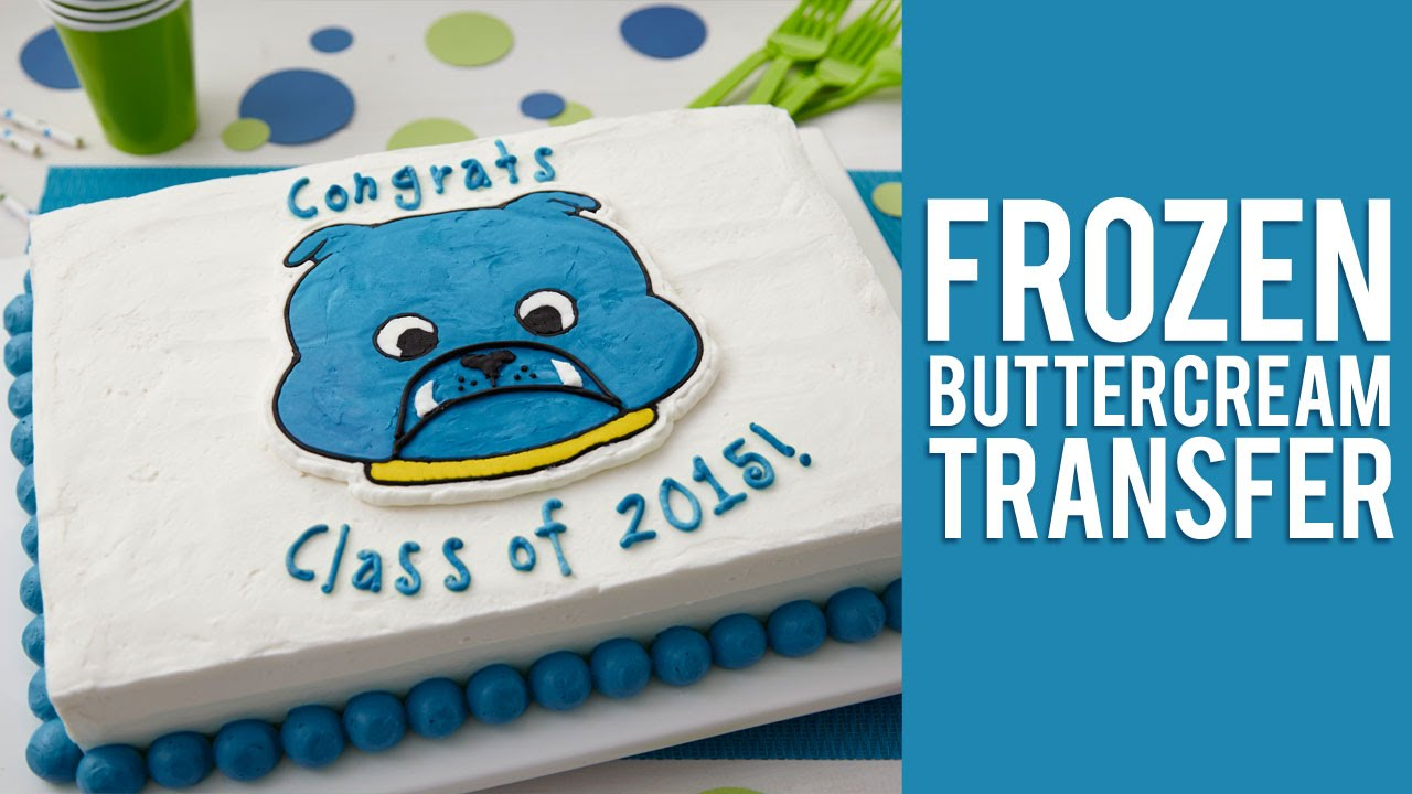 How long can you freeze a buttercream transfer?