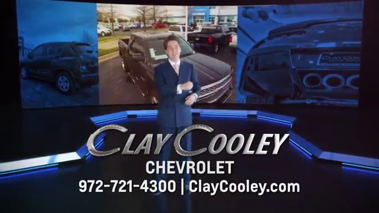 Clay cooley chevrolet beginning of the year savings youtube for Cooley motors used cars