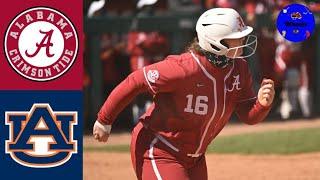#4 Alabama Vs #22 Auburn Highlights | 2021 College Softball Highlights