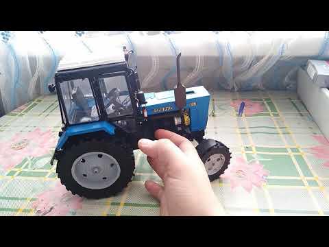Самодельная модель трактора МТЗ 82.1