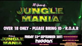18 Years Of Jungle Mania (23/09/11) - Video Advert