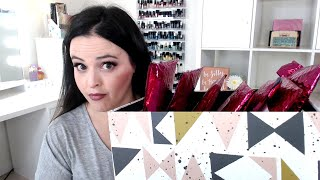 live stream  7 ipsy bags  omg  i m giving most of it away