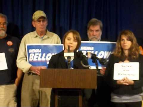 Shenna Bellows For Senate Attacks Susan Collins' Voting Record