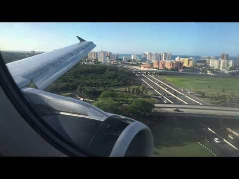 [4K] Volaris Airbus A320-200 landing to San Juan