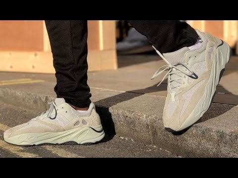 81104cb05eb64 ADIDAS ORIGINALS YEEZY BOOST 700 SALT KANYE WEST SHOES DETAILED LOOK REVIEW  + SIZING  Yeezyboost