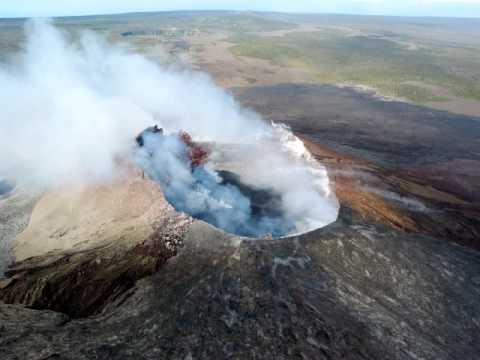 USGS Video of a Hawaiian Volcano