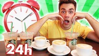 24h NUR KAFFEE TRINKEN 😱☕️