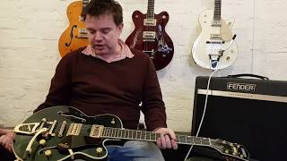 Gretsch Players Edition G6659TG Broadkaster Junior Overview with Damon Chivers at Music Bros. Ltd