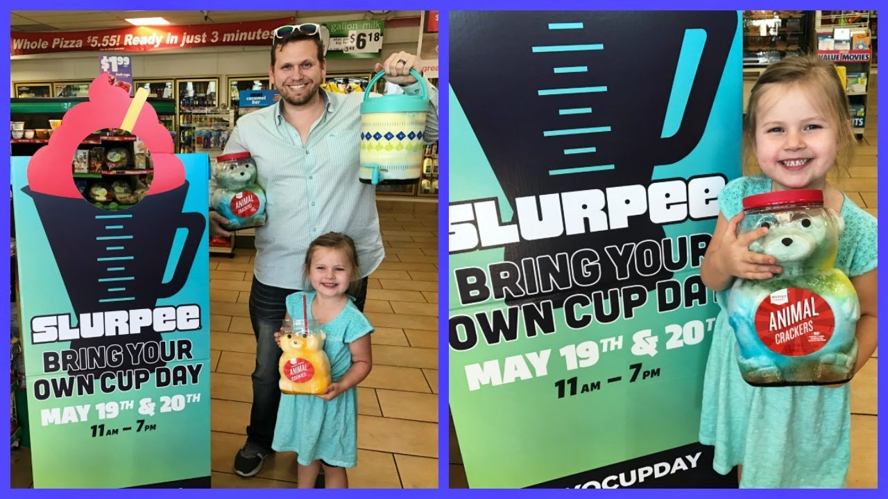 bring-your-own-cup-slurpee-day-at-7-eleven-family-vlog
