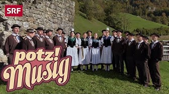 Jodlerklub Giswil: Heech Obe | Potzmusig | SRF Musik