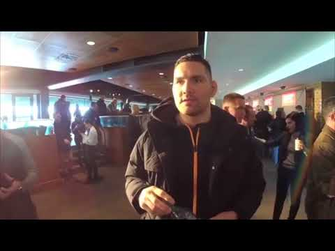 UFC 220  Media Scrum: Chris Weidman