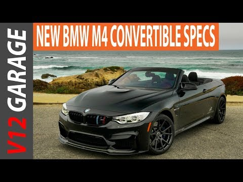 HOT !! 2018 BMW M4 Convertible Specs Review and Price