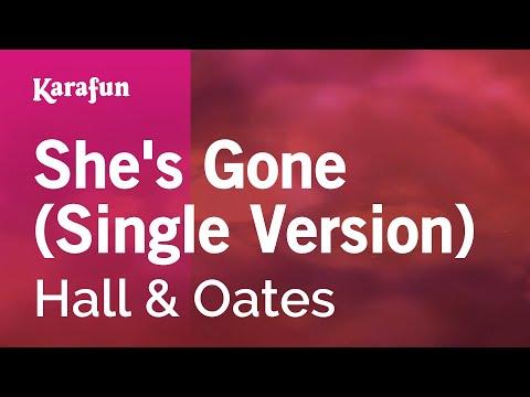 Karaoke She's Gone (Single Version) - Hall & Oates *