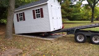 8' X 12' Shed Delivery