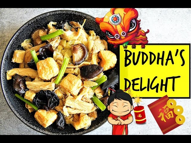 Buddha S Delight 羅漢齋 Chinese New Year With Ingredient Descriptions Youtube