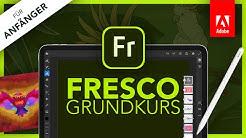 Adobe Fresco 2020 (Grundkurs für Anfänger) Deutsch