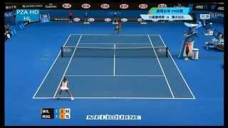 Serena Williams 2015 AO 88 ACES highlights