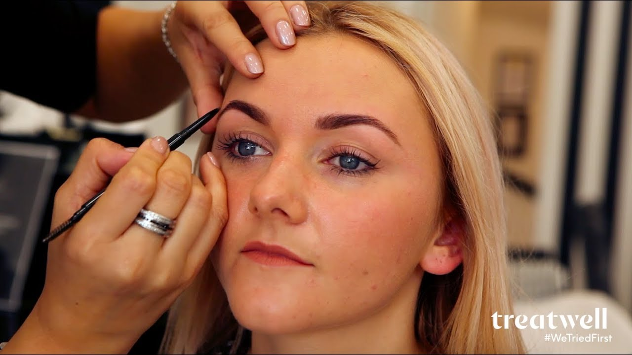 72360102dbd WTF is... HD Brows?   #WeTriedFirst - YouTube