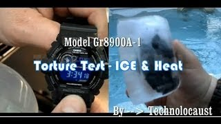 TORTURE TEST G-SHOCK | GR8900a-1 Tough Solar Frozen