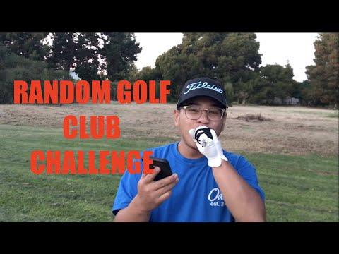 RANDOM GOLF CLUB CHALLENGE!!!