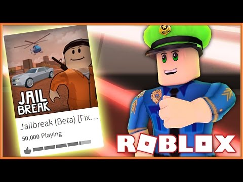 THIS IS THE MOST POPULAR ROBLOX GAME NOW! (Roblox JailBreak)