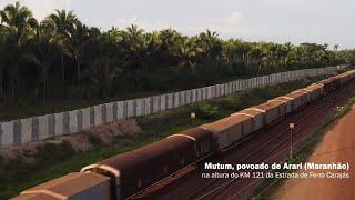 Vale S.A constrói muro de concreto na comunidade de Mutum, zona rural de Arari (MA)