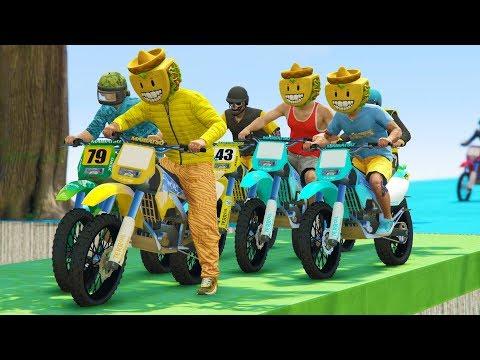 +40.000 MOTOS! INCREIBLE! - CARRERA GTA V ONLINE - GTA 5 ONLINE