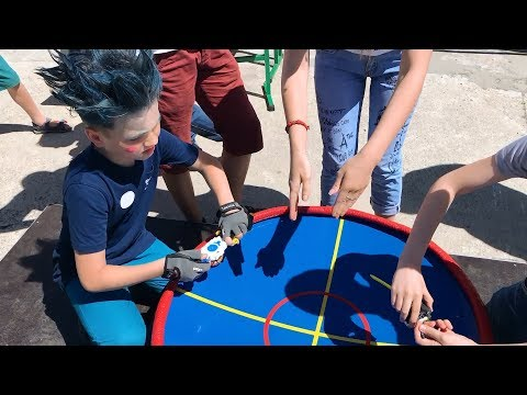 Tournament BEYBLADE burst in Brovary NaumKa The best battles in the huge arena