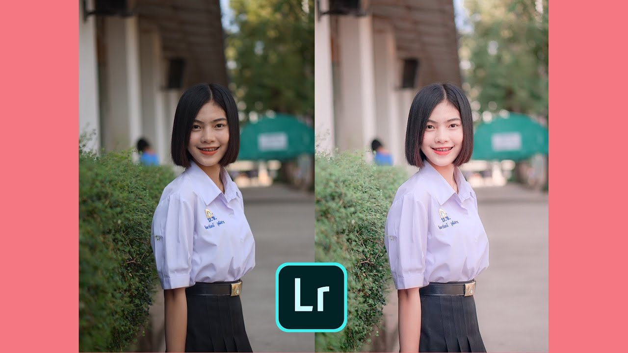 [ถ่ายยังไง๊ EP.4] สอนแต่งรูปในแอพ Lightroom โทนนักเรียนชมพูเขียวใส •jingjingcannes•