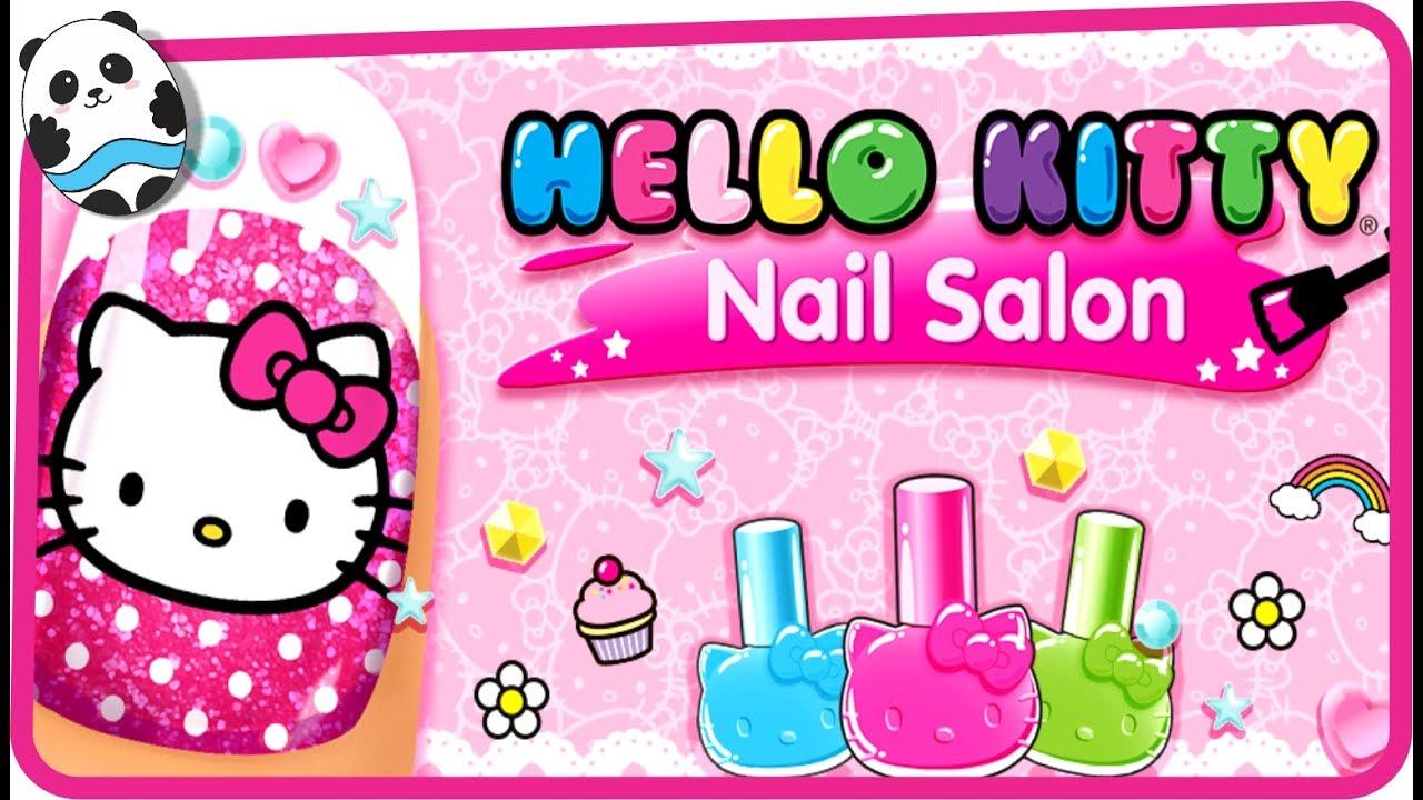 3ec5df8e195c Hello Kitty Nail Salon (Budge Studios) - Best App For Kids - YouTube