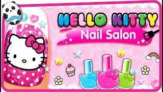 Hello Kitty Nail Salon (Budge Studios)  Best App For Kids