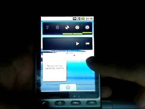 Android 2.0 (Eclair) running on my HTC Hero