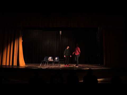 Hayward High School Duologue Competition 2018 - Mark and Lance (1st Place Comedic)