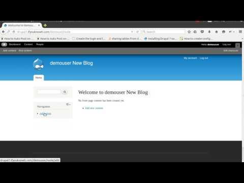 drupal 7 multisite creation automated like wordpress