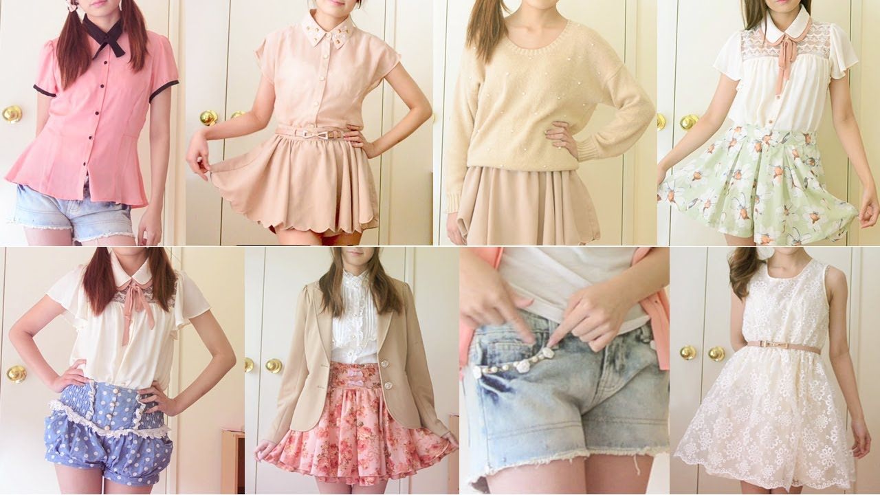 Back to School Cute Everyday Outfits - YouTube