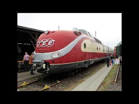 [60 Jahre TEE] DB Museum Koblenz Lokparade 2017 mit vielen Lokomotiven