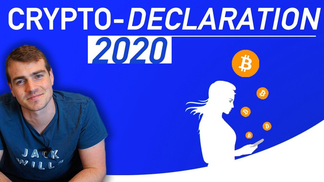 Crypto Déclaration fiscale 2020 | Fiscalité bitcoin