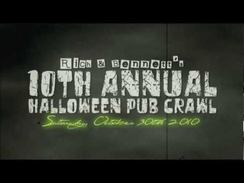 rich bennetts 10th annual halloween pub crawl