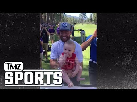 Justin Timberlake Goes 'Lion King' On Random Baby At Golf Tourney | TMZ Sports