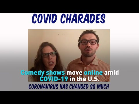 Comedy shows move online amid COVID-19 in the U.S.