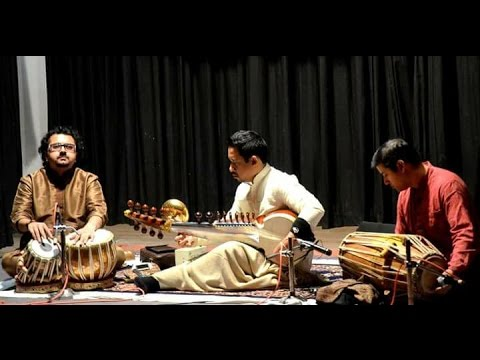 Shiraz Ali Khan, Arijit Tagore & Sourabh Goho | Live at Birla Academy of Art & Culture, Kolkata