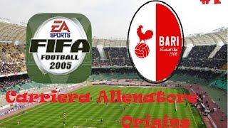 CARRIERA ALLENATORE ITA - FIFA 05 - BARI #1 - THE ORIGINS