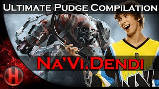 Na'Vi.Dendi Ultimate Pudge Compilation | Dota 2 Gameplay