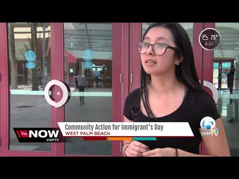 Community action for Immigrant's Day