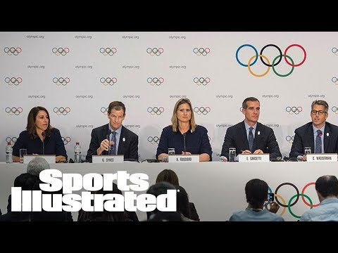 IOC Unanimously Votes To Award 2024 And 2028 Olympics In September | SI Wire | Sports Illustrated