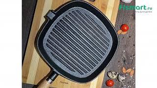 Сковороды: обзор Квадратная сковорода - гриль Fissman со съемной ручкой 25 х 4 см. 4069, где купить